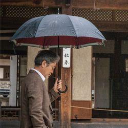 단청 2겹 양면 장우산