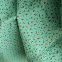 [Fabric] 폴링 플라워  패턴 코튼