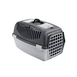 강아지컨넬 sp 걸리버2 플라스틱문 강아지 이동가방