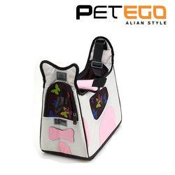 강아지가방 펫에고 보비 강아지 이동가방 핑크