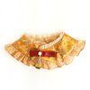 Hanbok Silk Frill Cape - Gold
