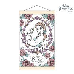 디즈니프린세스 그림그리기 행잉 세트 장미와벨 20X30