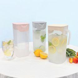 [무료배송] 깨끗한 이지핸들 냉장고 물병 2L 2개