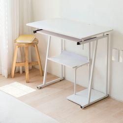 룸버책상 1인용 컴퓨터 철제테이블