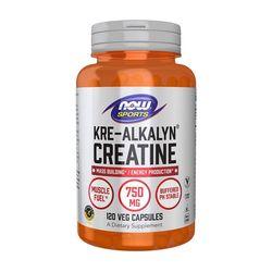 NOW Kre-Alkalyn Creatine 크레아틴 750 mg 120정