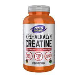 NOW Kre-Alkalyn Creatine 크레아틴 750 mg 240정