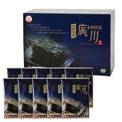 광천우리맛김 파래무가미김 15g x 10봉