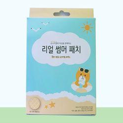 케이원 친환경 모기패치 리얼썸머패치 12매입