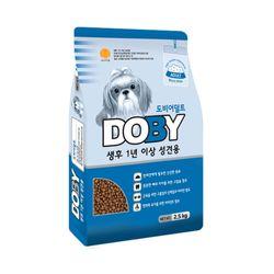 1살이상 강아지 사료 도비 어덜트 2.5kg