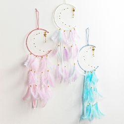 풍수 LED 달&별 드림캐쳐 (3colors)