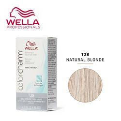 WELLA 웰라 컬러참염색 내츄럴 브론드T28 natural blonde