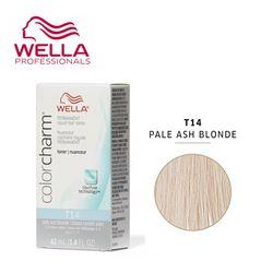 WELLA 컬러참 페일 애쉬브론드T14 pale ash blonde