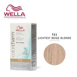 WELLA 라이트 베이지브론드 T11 light beige blonde
