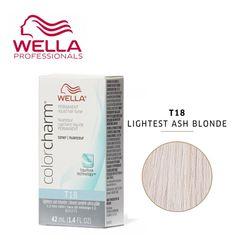 WELLA 컬러참염색 라이트 애쉬브론드T18 ash blonde