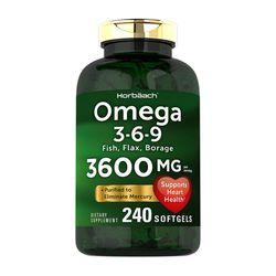 Horbaach omega 3-6-9 오메가 3600mg 240소프트젤