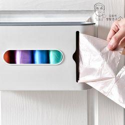 듀올 비닐봉투 정리함 수납 서랍 주방 욕실 정리