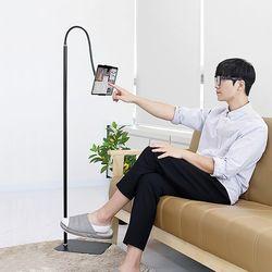 집콕필수 침대쇼파 독립형스탠드 휴대폰 태블릿거치대