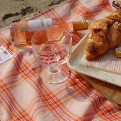 BUTTER peach jam picnicmat