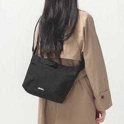 스몰 로고 2웨이백 미니-블랙