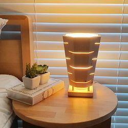 멀바우 원목 취침등 무드등 수유등 밝기조절 LED 침대스탠드