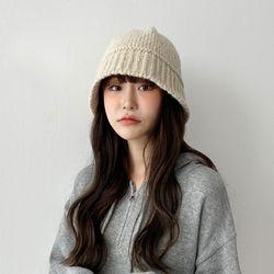 알파카 니트 벙거지 겨울 모자
