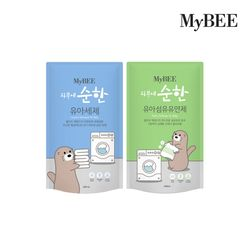 마이비 피부에순한 유아세제+유연제 400ml