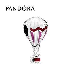 판도라 참 Dangle Red Hot Air Balloon