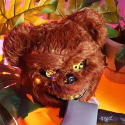 LED 호러 곰 가면 할로윈 마스크