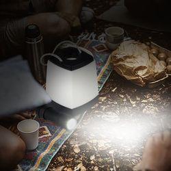 2in1 LED 손전등 겸용 건전지 무드등