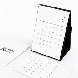 2022 책상용달력 오퍼비 탁상 기능성 포켓 모던 노스프링