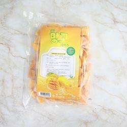 더프룻 냉동과일 망고다이스(정크) 1kg 아침대용
