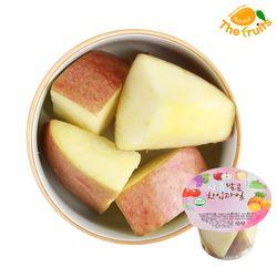 더프룻 아침대용 냉장컵과일 사과 100g 한컵과일 생일파티