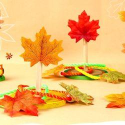 단풍잎고리던지기만들기(4인용)가을단풍잎만들기