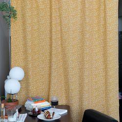 라인테라조마블카라멜 긴창커튼 카페커튼 140x240cm