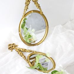 줄리 벽걸이 거울 - Medium