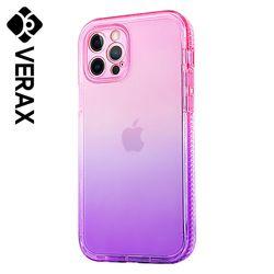 아이폰8 투톤 그라데이션 투명 젤리 케이스 P629
