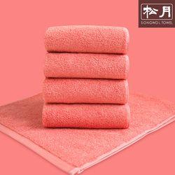 송월 고중량 코마사 컬러칩 호텔수건 핑크 10장