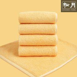 송월 고중량 코마사 컬러칩 호텔수건 옐로우 10장
