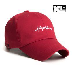 빅사이즈 볼캡 XL HIGHLAND CAP DARK RED