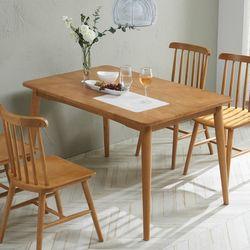 칸토나 4인원목식탁 테이블(의자미포함)