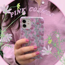 [뮤즈무드] pink cosmos 아이폰케이스