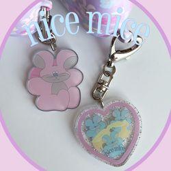 nice mice key ring (키링)