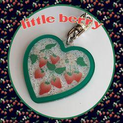 little berry key ring (키링)