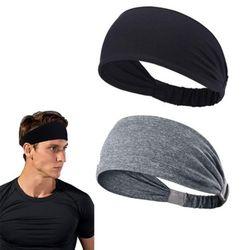 스포츠 헤어밴드 통기성 땀흐름방지 신축성 머리띠 2color