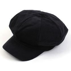 Washing Bold CT Black Newsboy Cap