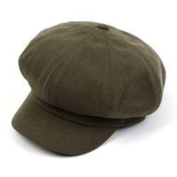Belted Bold CT Khaki Newsboy Cap
