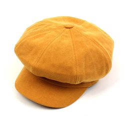 Belted Bold CT Camel Newsboy Cap
