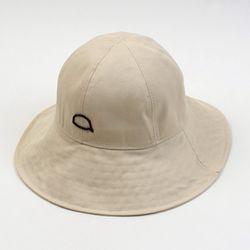Bubble Beige Bermuda Over Bucket Hat