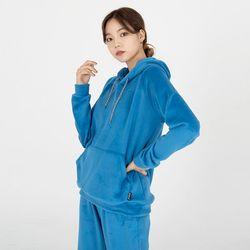 벨로아 후드 티셔츠(블루)(ITEMGCG3AJ4)