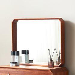 벌집M 팔각 화장대거울 원목 벽거울
